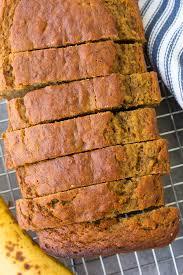the best healthy banana bread recipe
