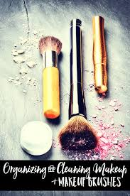 do you keep your makeup organized and your makeup brushes clean check out the