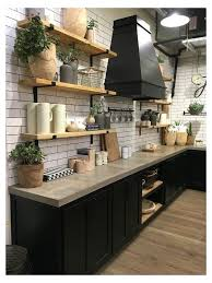 Pin by Wendi Wolfe on 2020 Mobile Home Park in 2020 | Rustic industrial  kitchen, Kitchen countertop trends, Industrial kitchen design