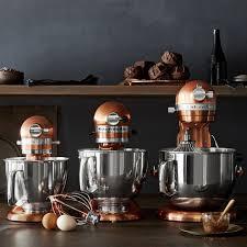 kitchenaid mini stand mixer with flex edge beater copper