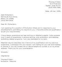Cover Letter For Graphic Designer Cover Letter For Graphic Design