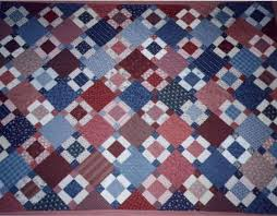 Reproduction Quilt - A Nine Patch Inspired by a Smithsonian Quilt & Click ... Adamdwight.com