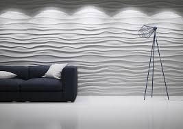 3d panel wave