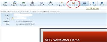 Email Buttons Spam Buttons And Complaints Email Marketing Tips