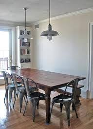 industrial style dining room lighting. galvanized dining room set | #lighting #industrial industrial style lighting r