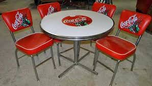 coca cola table and chairs uk tables stools