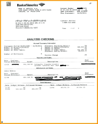 Free Accounting Templates In Excel Bank Statement Template