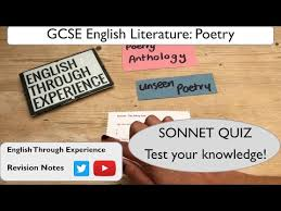 gcse english literature unseen poetry