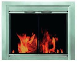 clean fireplace glass door gas how to ceramic doors keep image
