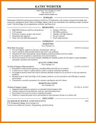 7 Technical Resume Examples Mbta Online