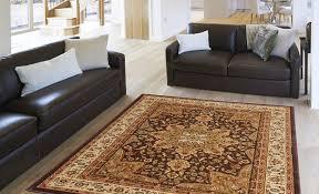 photo 2 of 7 traditional persian border area rug 5x8 oriental carpet