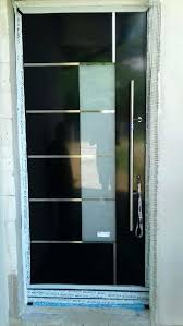 black aluminum entrance door schuco ads 75si model exclusive doors aluminum entrance door aluminium entrance doors