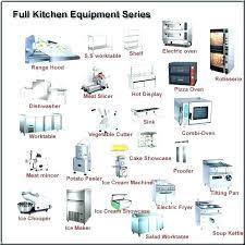 kitchen utensils list. List Of Kitchen Appliances Utensils Equipment For Hire H