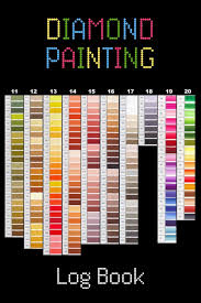 2 In 1 Dmc Paper Color Chart Diamond Painting Drill Colors