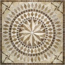 ceramic tile floor medallions ceramic tile floor medallions lovely travertine tile ms international building materials del