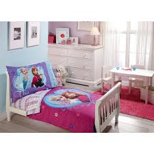 Pink Toddler Bedroom Disney Frozen 4 Piece Toddler Bedding Set Babiesrus