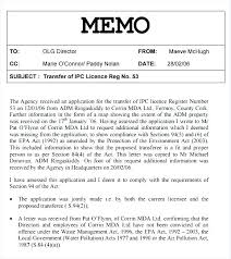 Sample Company Memorandum Memo Template Memorandum Word Sample Of Understanding