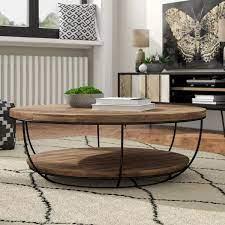 hokku designs coffee table with storage