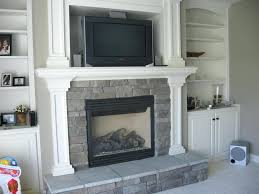the addition gas fireplace hanging adding small exterior to existing home cost