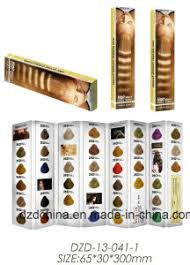 Small Color Chart China Portable Samll Size Hair Color Chart China Small