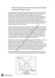 hsc economics essay protection year hsc economics thinkswap practice economics essay on protection