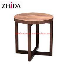 china modern round wooden solid wood