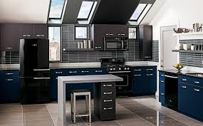image of simple matching stainless steel kitchen appliances