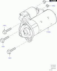 ford starter motor parts diagrams Ford Starter Motor Wiring Ford PMGR Starter Wiring Diagram
