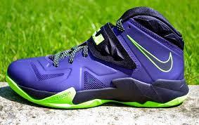 lebron shoes soldier 7. nike lebron soldier 7 purple shoes