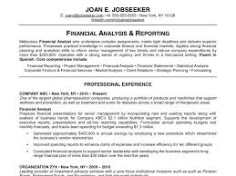 Examples Of Good Resumes Resume Templates
