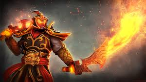 ember spirit none escape my fire fan art wallpaper dota 2