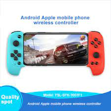 Tay Cầm Chơi Game Bluetooth Không Dây Saitake 7007f Cho Samsung Xiaomi  Huawei Android Taotao3C tại Nước ngoài