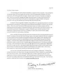 Letter of Recommendation for Kristy Carpenter