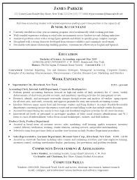 Sample Accounting Resume Unorthodox Representation Collection Of