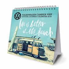 2018 volkswagen westfalia. simple westfalia volkswagen campers easel calendar 2018 with volkswagen westfalia