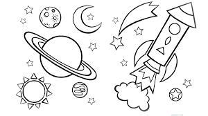 Small Picture Good Outer Space Coloring Pages 23 About Remodel Line Drawings