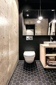 black hexagon tile bathroom black hexagon tile bathroom a black wall black hex tiles and a black hexagon tile bathroom