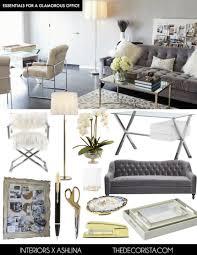Old Hollywood Living Room Decor Modern Glamour Interior Design