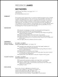 Free Entry Level Medical Assistant Resume Template Resume Now