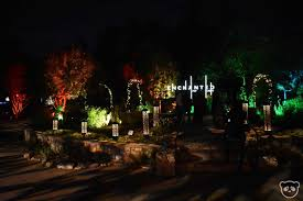 Christmas Light Installation Pasadena Ca Descanso Gardens Enchanted Forest Of Holiday Lights In Los