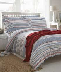 hudson stripe organic cotton bedding from notonthehighstreet com
