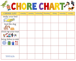 Daily Chores Checklist Daily Chore Chart For Kids Stopqatarnow Design Free Printable
