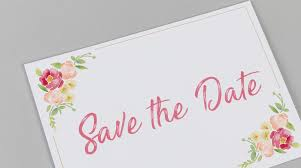 How To Make A Save The Date Card Wedding Save The Date Cards Flat Save The Date Cards