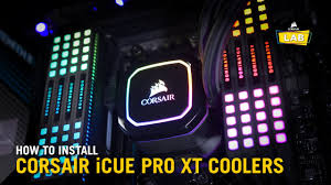 how to install corsair icue pro xt cpu