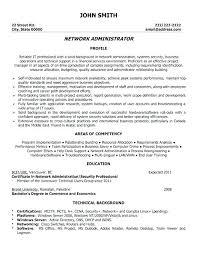 System Admin Resumes Entry Level Network Administrator Resume Hotwiresite Com