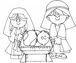 Small Picture Birth Of Jesus In Manger Coloring SheetsOfPrintable Coloring