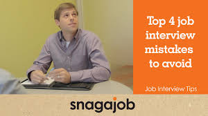 Job Interview Tips Part 10 Top 4 Job Interview Mistakes To