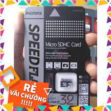 SALE) Thẻ nhớ Micro SD Remax 32gb hàng chất lượng bảo hành 1 năm