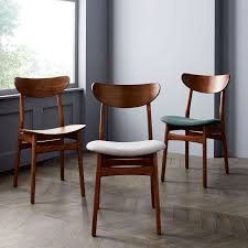 Classic Caf Upholstered Dining Chair west elm