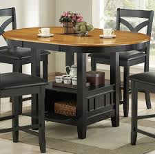 dining table with storage and chairs gallery golfocd com throughout counter height ideas 18